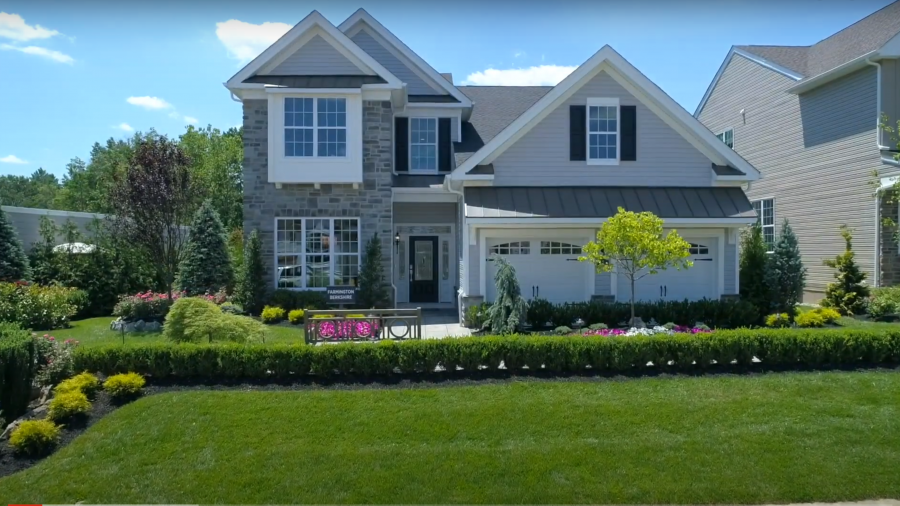 A beautiful two story house in New Jersey